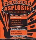 Flyer van Asplosief 2014