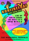 Flyer van Konijnefoaf volume IIII