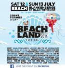 Flyer van Beachland 2014 - day 2
