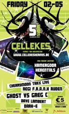 Flyer van Cellekeskermis - 5 Years