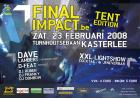 Flyer van Final Impact Tent Edition