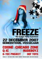 Flyer van Freeze