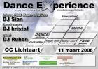 Flyer van Dance Experience - 1st Edition