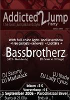 Flyer van A2J-party