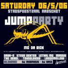 Flyer van JumpParty