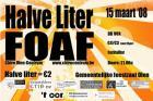 Flyer van Halve Liter Fuif