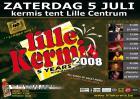 Flyer van Lille Kermis 2008