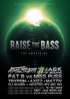 Flyer van Raise The Bass - The Awakening