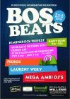 Flyer van BosBeats 2014