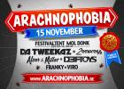Flyer van Arachnophobia *20 YEARS*