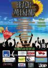Flyer van Beachweekend