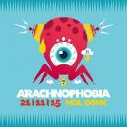 Flyer van Arachnophobia 2015