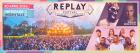 Flyer van Replay festival