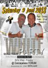 Flyer van SOULTRAIN WHITE PARTY