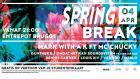 Flyer van Spring Break 2019