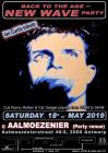 Flyer van Back to the age of New wave party