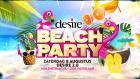Flyer van Beachparty 2020