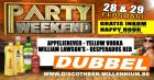 Flyer van Party Weekend - 28 februari