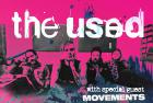 Flyer van Drop Out 2020 w. The Used, Movements & More