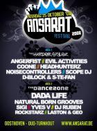 Flyer van Ansarat Festival 2008