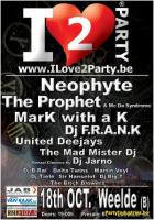 Flyer van I Love 2 Party