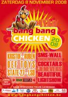 Flyer van Bang Bang Chicken 2008