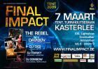 Flyer van Final Impact