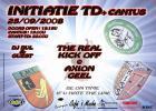 Flyer van Initiatie TD + Cantus