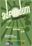 Flyer van Ad Fundum
