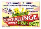 Flyer van BeerChallenge Kermis Party
