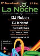Flyer van La Noche