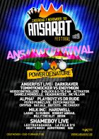 Flyer van Ansarat Festival
