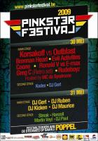 Flyer van Pinksterfestival 2009