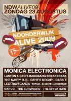 Flyer van Noorderwijk Alive 09