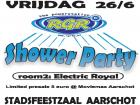 Flyer van RGR Shower Party