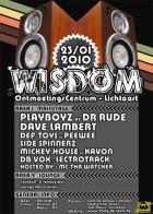 Flyer van Wisdom 2010
