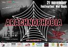 Flyer van Arachnophobia 2009