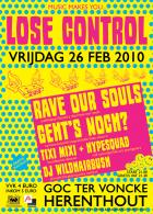 Flyer van Lose Control