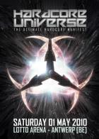 Flyer van Hardcore Universe: The Ultimate Hardcore Manifest