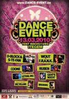 Flyer van Dance Event