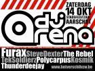 Flyer van DJ Arena