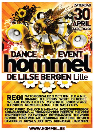 Nieuws afbeelding: Hommel Dance Event