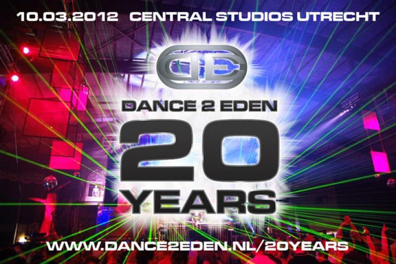Nieuws afbeelding: 20 years Dance 2 Eden