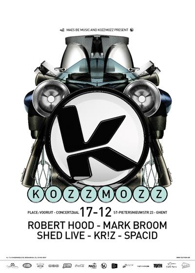 Nieuws afbeelding: KozzMozz - Zaterdag, 17 December @ Vooruit Ghent
