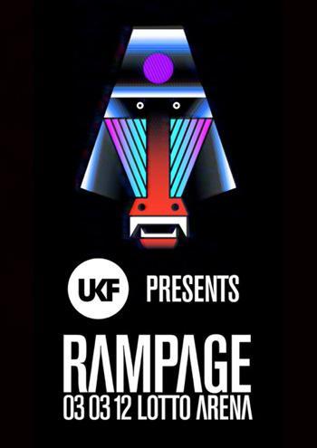 Nieuws afbeelding: [REVIEW] UKF Rampage - Lotto Arena (03/03/2012)