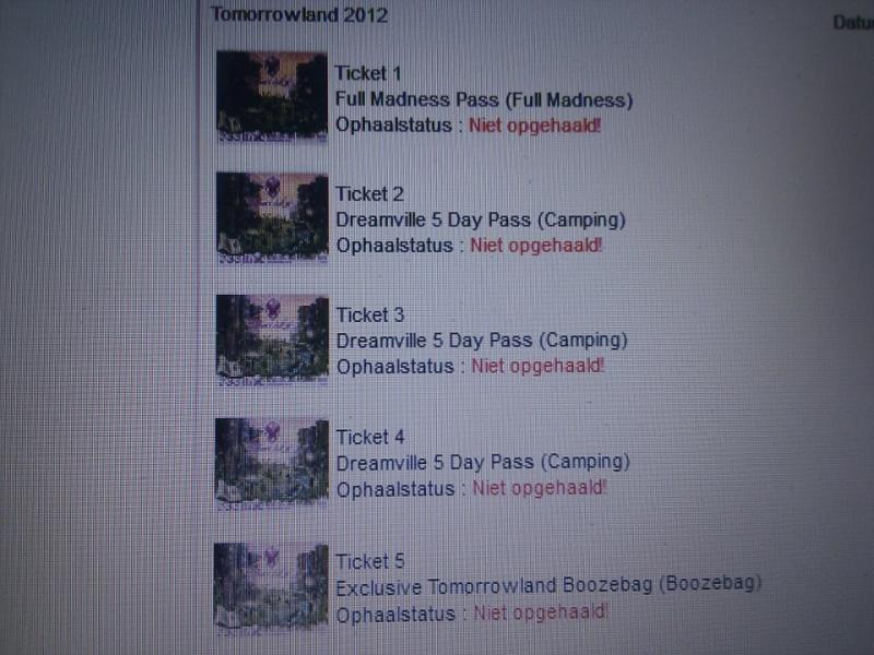 Nieuws afbeelding: Tomorrowland 2012: Ticketverkoop gaat hard!