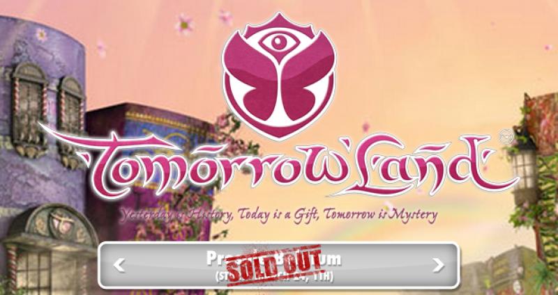 Nieuws afbeelding: Tomorrowland 2012: Belgische presale al uitgeput!