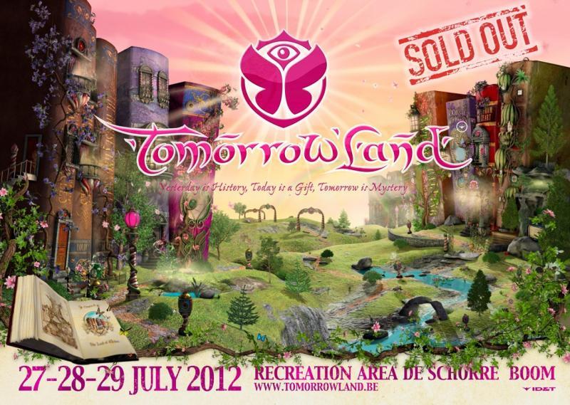 Nieuws afbeelding: Tomorrowland 2012: uitverkocht op recordtempo!