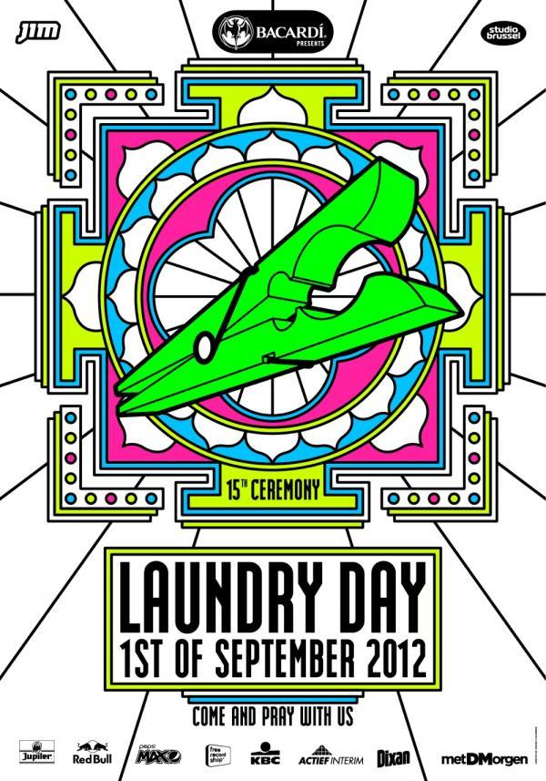 Nieuws afbeelding: Laundry Day 2012 nieuwe namen