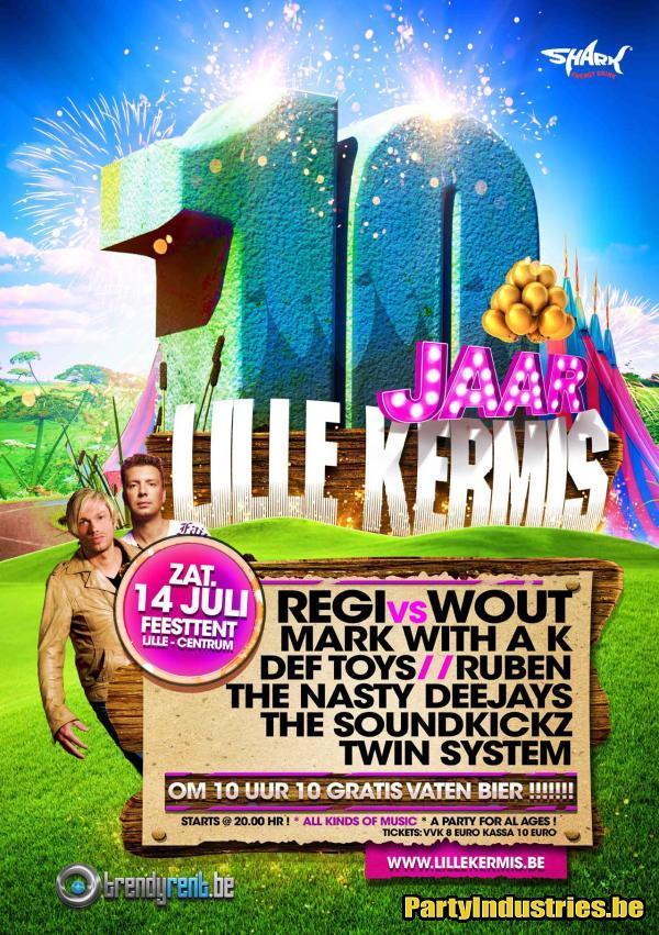Nieuws afbeelding: DJ battle Regi vs Wout en 10 gratis vaten bier op Lille Kermis 2012!